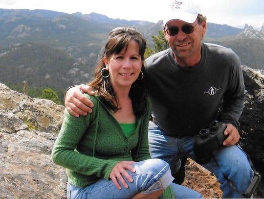 Cindy Davis and her husband, Mike Davis, enjoyed spending