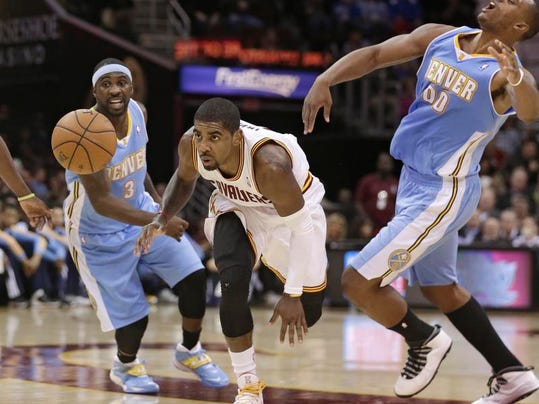 Nuggets Cavaliers Basketball