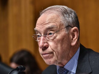 Grassley breaks news in tweet that reads like direct message to Kavanaugh