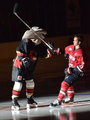 The Corpus Christi IceRays will play the Odessa Jackalopes at 7:05 p.m. Friday and Saturday at the American Bank Center, 1901 N. Shoreline Blvd.