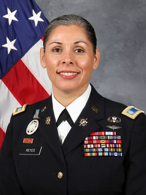 Lt. Col. Blanca Reyes was selected Professor of Military Science of the Year for the U.S. Army Cadet Command out of 275 Army ROTC programs across the country.