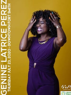Genine Latrice Perez is set to perform a mobile, socially distanced concert on Thursday, July 23, 2020, in downtown Fort Smith through 64.6 Downtown and the Levitt Amp Foundation.