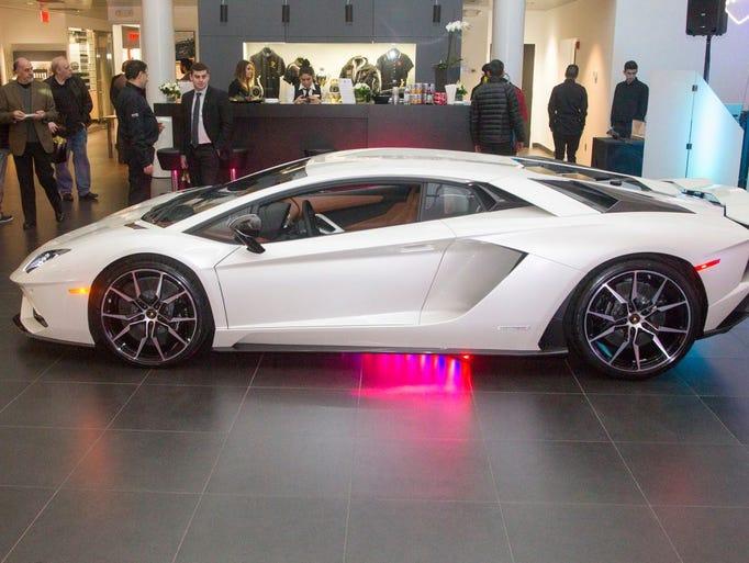 Lamborghini Paramus Holds Aventador S Sneak Preview Event