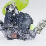 Fresh snow at Arizona Snowbowl on March 2, 2014.