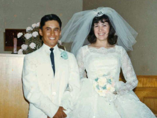 Sylvia and Joe Garcia were married on June 18, 1966, in Cortez, Colo.