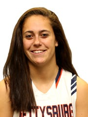 Gettysburg College basketball player Emily Gibbons