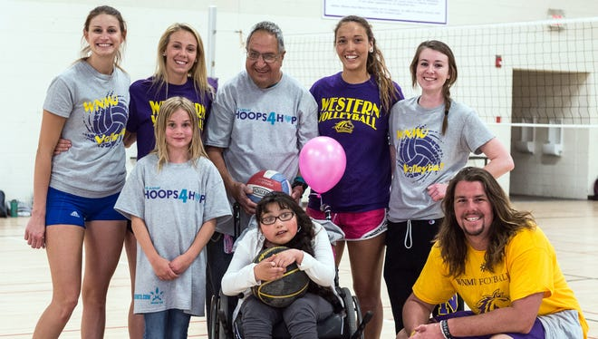 Pictured are participants from last year's Hoops 4 Hope event.