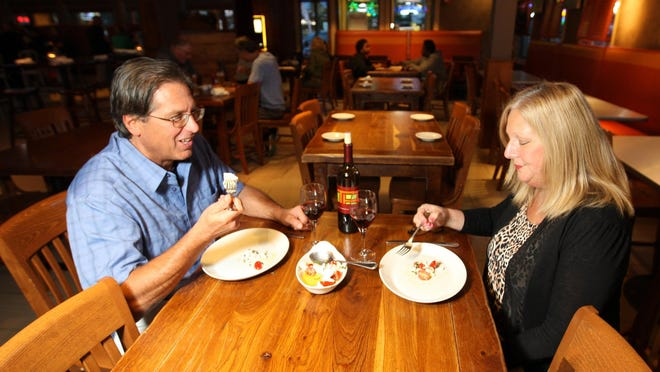 The Greater Toms River Chamber of Commerce holds a Member Connect Friday at Tuscan Bistro Bar, Toms River.