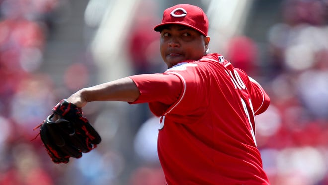 Alfredo Simon gave up one run in the Reds' loss to the Rays.