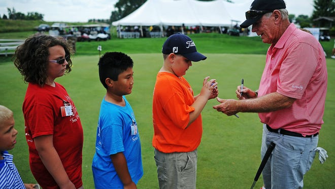 Graham Marsh (right) is among the PGA Tour Champions golfers signed up for the Orion Classic on Aug. 11-12 in Sioux Falls.