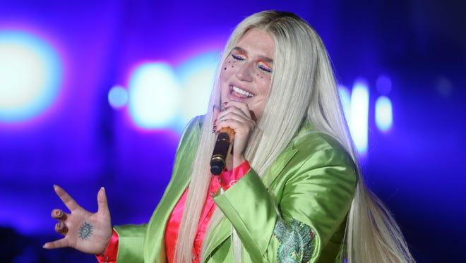 Kesha will perform at Riverbend Music Center next summer.