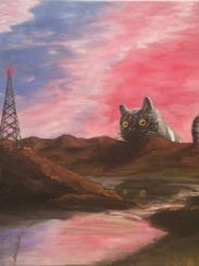 """""""Smokey the Cat,"""" Bellotti  said, is set in the evening"""