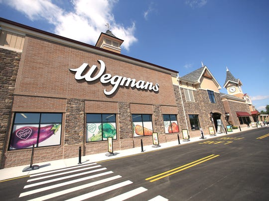 The new Hanover Wegmans, a 113,000 square-foot supermarket,