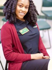 Rhonda Gaines, a graduate student in public health