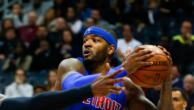 Pistons forward Josh Smith