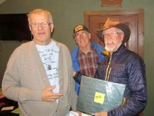 Tony Davis, right, and Dick Mastin from the White Mountain