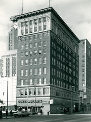 Cunningham's was located on the southwest corner of