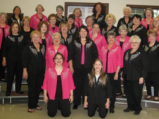 Piney Hills Harmony Chorus, fall 2015