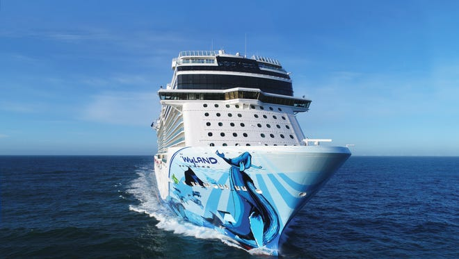 Norwegian Cruise Line's 4,004-passenger Norwegian Bliss.