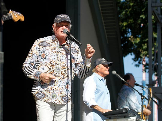 The Beach Boys will perform at the Oregon State Fair at  7 p.m. Saturday, Aug. 31.