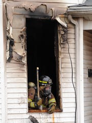 A fire on the 100 block of Old Eastern Avenue on Jan. 10, 2017, is among 18 structure fires determined to be intentional over the past five years. A woman had been burning papers inside and the fire got out of control, the Chillicothe Fire Department reported.