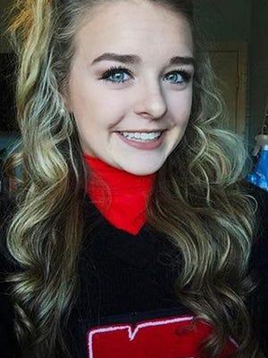 Emma Jane Walker, a Central High School cheerleader, was fatally shot in her bedroom while she slept in November 2016.