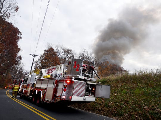 A fire that was started in a wood stove most likely was the cause of a structure fire that destroyed a detached garage that housed around a half dozen antique vehicles. Fire departments were dispatched to 408 Chestnut Hill Road, Bethel Township Tuesday afternoon, Nov. 15. The contents of the garage were a total loss.