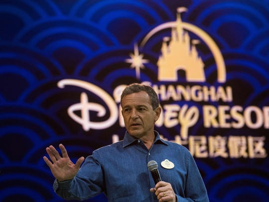 Chairman and CEO of Walt Disney Bob Iger addressed