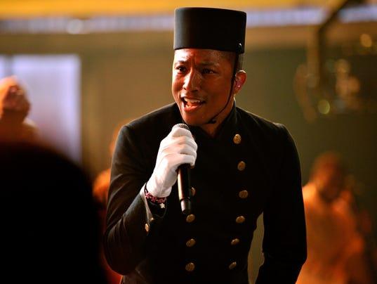 Pharrell Williams at Grammys