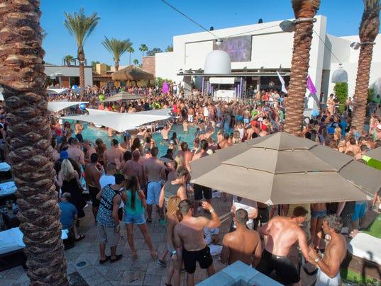 Maya Pool Party