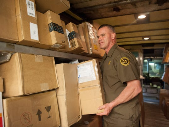 Ups Delivery Total package: UPS dri...