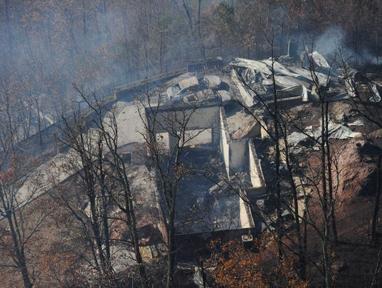Gatlinburg Fire 7