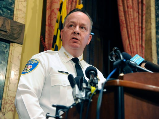 AP BALTIMORE POLICE DEATH-JUSTICE DEPARTMENT A USA MD