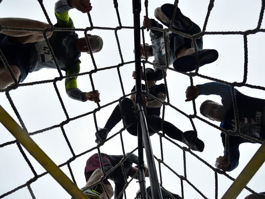 Battle of the Frontlines  obstacle course race for police,  firefighters, and emergency workers