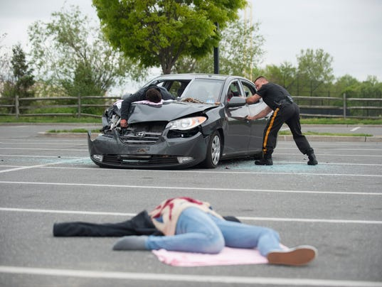 Teens In A Car Accident