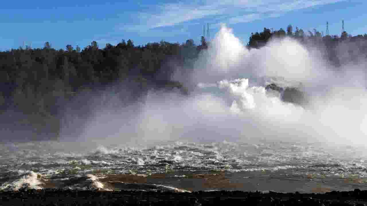 Lake oroville drops to goal before brunt of storms geenschuldenfo Image collections