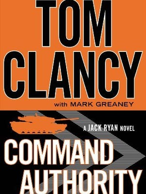 Tom Clancy's 'Command Authority' comes out this week.