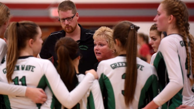 Newark Catholic coach Jeri Helfer has resigned after 17 seasons.