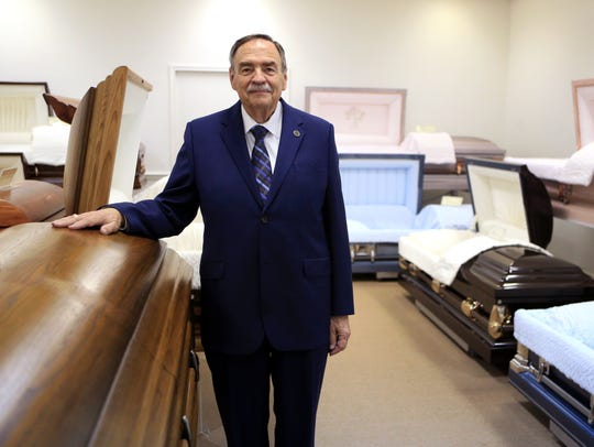 Jack Sawyer, of the Sawyer-George Funeral Home, was