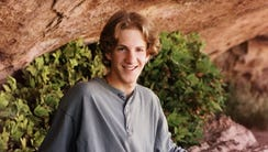 Dylan Klebold in an undated family photo made available