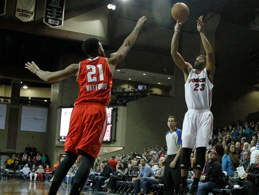 Maine Red Claws at Sioux Falls Skyforce Basketball