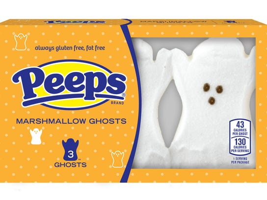 This product image released by Peeps shows marshmallow