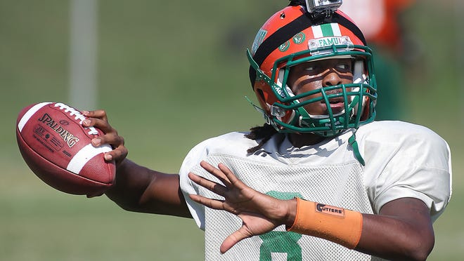 Quarterback Damien Fleming hopes to make a strong case during preseason camp to keep his job.