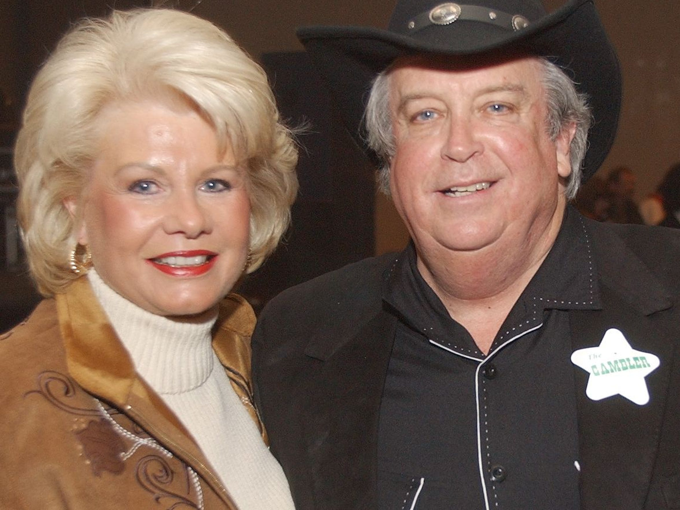 Pat and Milton McGregor throw a private party with