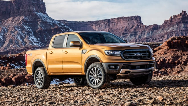 The all-new 2019 Ford Ranger for North America is packed with driver-assist technologies.