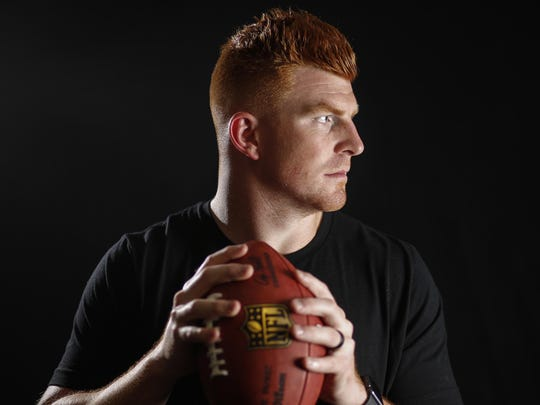 Bengals quarterback Andy Dalton at Paul Brown Stadium in Cincinnati
