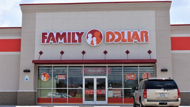 Stock photo of a Family Dollar store.