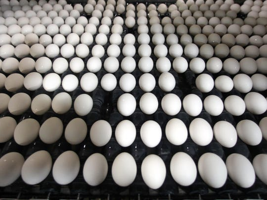 Iowa grocers are seeing lower demand for eggs, as prices hit $3 a dozen.