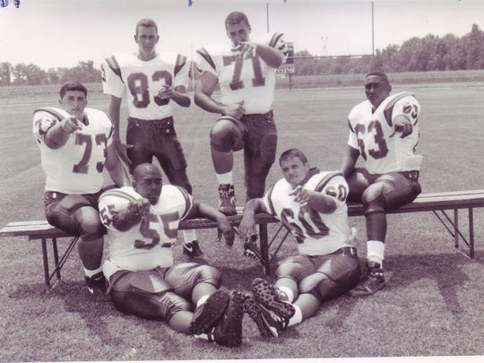 The Carencro Golden Bears' offensive line was right