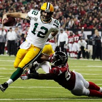 Falcons, Packers fans scramble for tickets